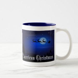 American Christmas Coffee Mug