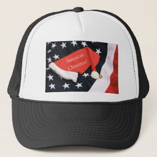 American Christmas Shirt Trucker Hat