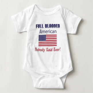 american citizen design baby bodysuit