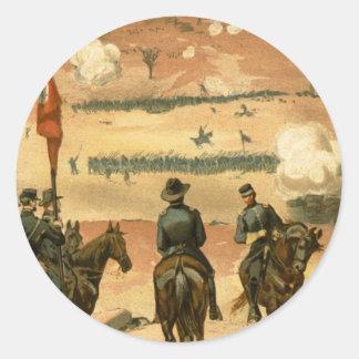 American Civil War Battle of Chattanooga 1863 Round Sticker