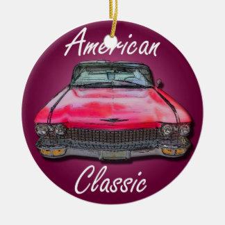 American Classic 1960 Cadillac Ceramic Ornament