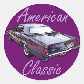 American Classic 1967 Cadillac Eldorado Round Sticker