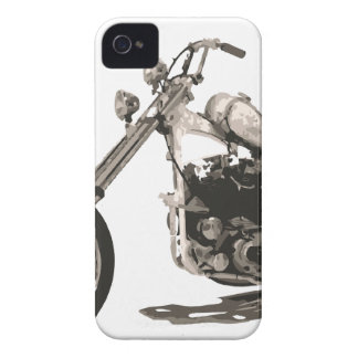 American Classic Chopper Motorcycle iPhone 4 Covers
