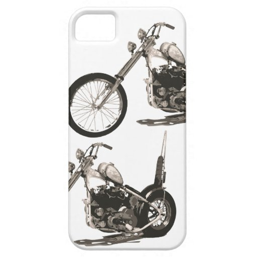 American Classic Chopper Motorcycle iPhone 5 Cover