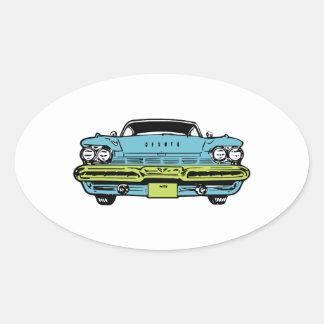 American Classic Oval Sticker