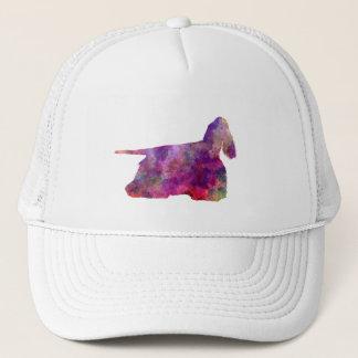 American Cocker spaniel 01 in watercolor 2 Trucker Hat