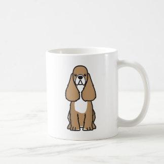 American Cocker Spaniel Dog Breed Cartoon Mug