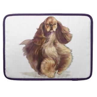 American Cocker Spaniel Dog MacBook Pro Sleeve