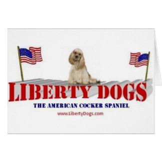 American Cocker Spaniel Greeting Card