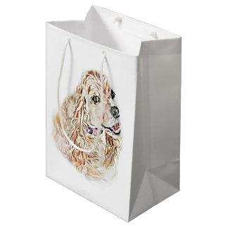 American Cocker Spaniel Medium Gift Bag