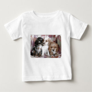 American Cocker Spaniel Puppies Baby T-Shirt