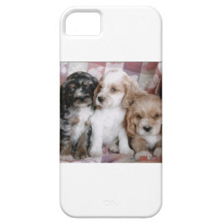 American Cocker Spaniel Puppies Case For The iPhone 5