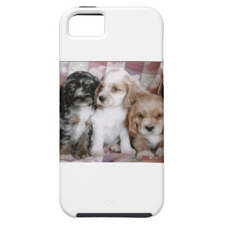 American Cocker Spaniel Puppies iPhone 5 Cover