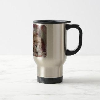 American Cocker Spaniel Puppies Travel Mug