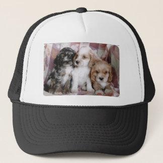 American Cocker Spaniel Puppies Trucker Hat