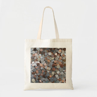 American Coins save investing bank Tote Bag
