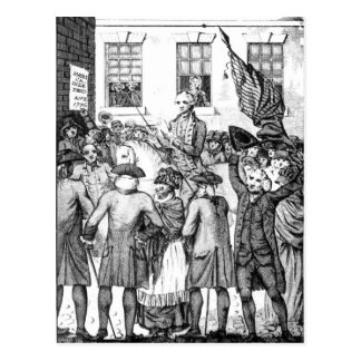American Colonists Declared Themselves Postcard