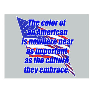 American color or culture post cards