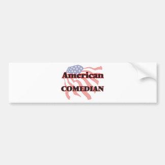 American Comedian Bumper Sticker