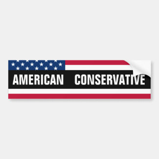American Conservative Bumper Sticker