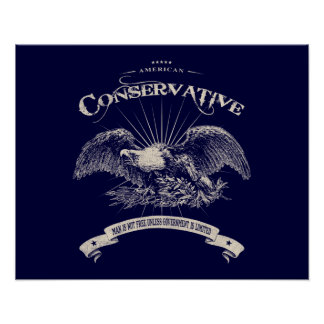 American Conservative Poster