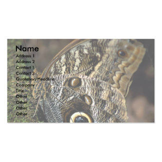American copper butterfly business cards