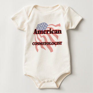 American Cosmetologist Baby Bodysuit