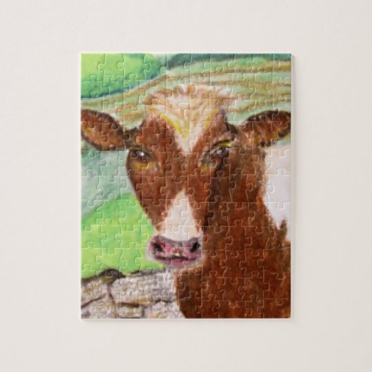 American Country Cow Puzzle