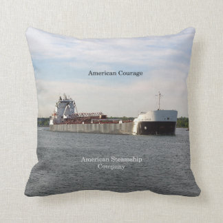 American Courage square pillow