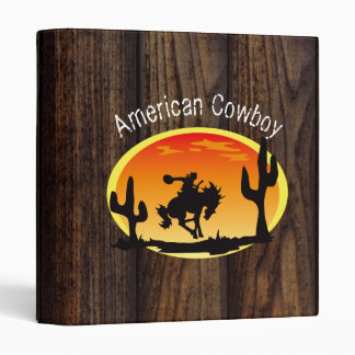 American Cowboy Binder