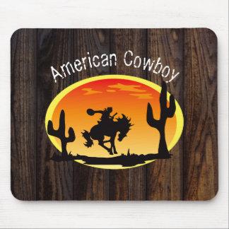 American Cowboy Mouse Pad