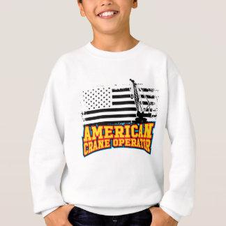 American Crane Operator Sweatshirt