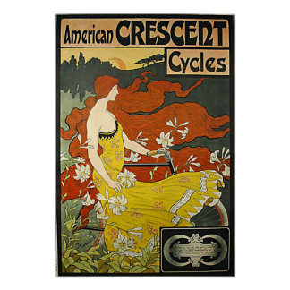American Crescent-1899 Poster