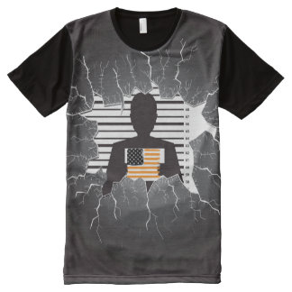 American Criminal All-Over-Print T-Shirt