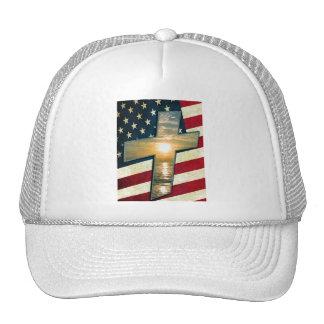 American Cross #1 Trucker Hat