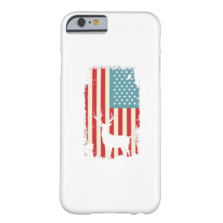 American Deer Hunter Patriotic For Men Women Barely There iPhone 6 Case