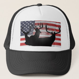 American Deer hunter Trucker Hat