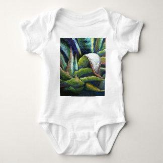 American Desert Agave Cactus by Sharles Baby Bodysuit
