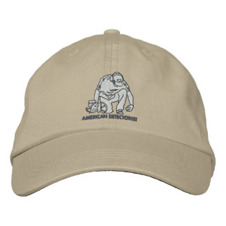 American Detectorist Basic Adjustable Cap Embroidered Baseball Cap