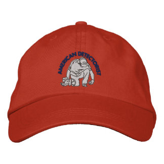 American Detectorist Embroidered Basic Adjustable Embroidered Baseball Caps