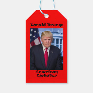 American Dictator - Anti Trump Gift Tags