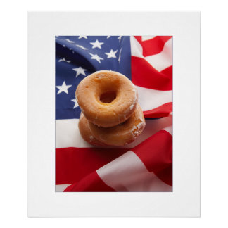 American Diet Creative  Photography Poster