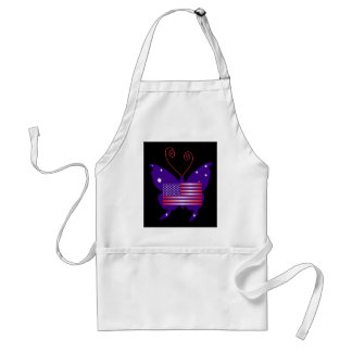 American Diva Butterfly Adult Apron