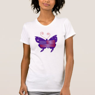 American Diva Butterfly Shirt