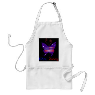 American Diva Butterfly Society Adult Apron
