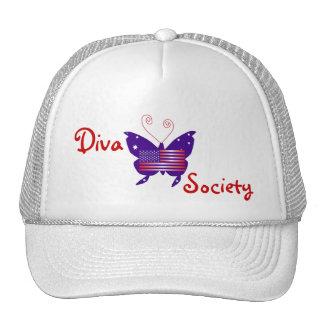 American Diva Butterfly Society Trucker Hat