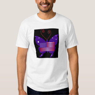 American Diva Butterfly Tee Shirts