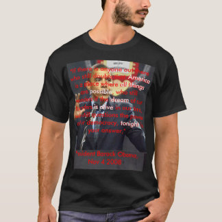 American Dream tshirt
