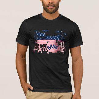 American Drum Set T-Shirt
