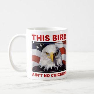 American Eagle Ain't No Chicken Coffee Mug
